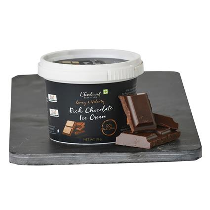 Rich Chocolate Ice Cream - L'exclusif