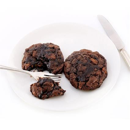 Choco Fudge Cookies - Cafe Basilico