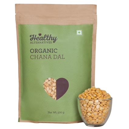 Organic Chana Dal - Healthy Alternatives