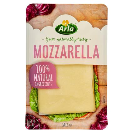 ARLA MOZZARELLA SLICES CHEESE 150G
