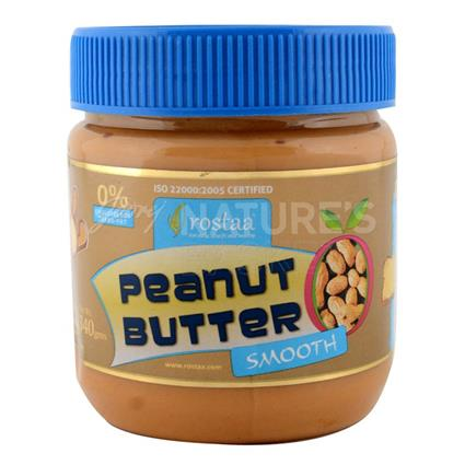 ROSTAA SMOOTHY PEANUT BUTTER 340G