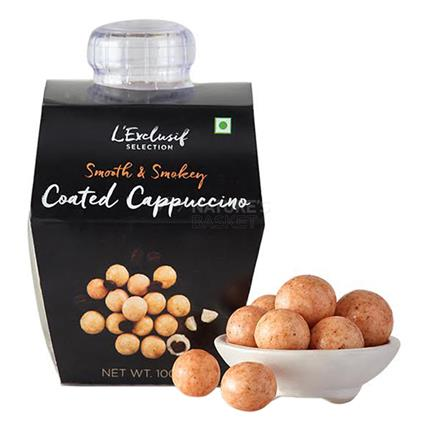 Chocolate Coated Coffee Beans  -  Cappuccino - L'exclusif