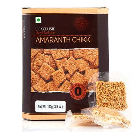 Amaranth Chikki - L'exclusif