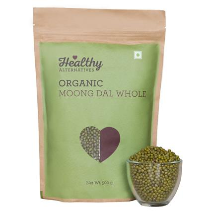 HA ORGANIC MOONG DAL WHOLE 500G