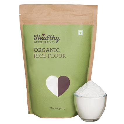Organic Rice Flour - Healthy Alternatives