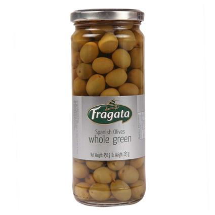 Whole Green Olives - Fragata