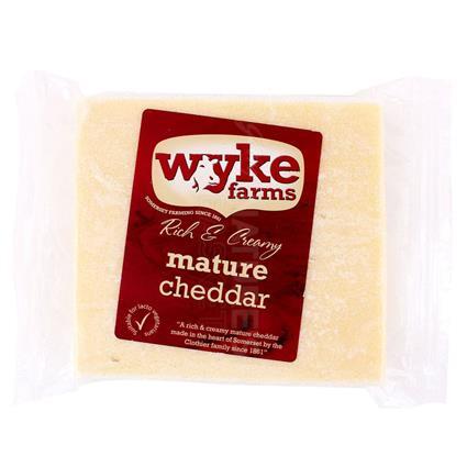 Rich & Creamy Mature Cheddar - Wyke Farm