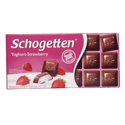 Yoghurt Strawberry Chocolate - Schogetten
