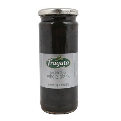 Whole Black Spanish Olives - Fragata