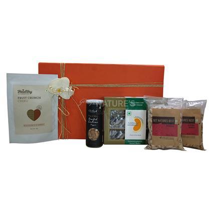 Exotic Dry Fruit Hamper - Medium - Natures Basket
