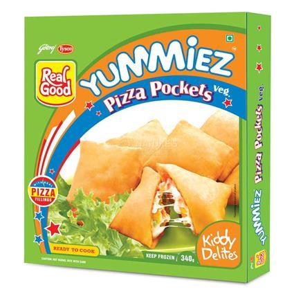 Veg Pizza Pocket - Yummiez
