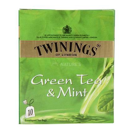 Green Tea & Mint  -  10 TB - Twinings