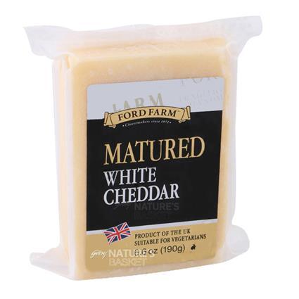 White Matured Cheddar Cheese - Ford Farm