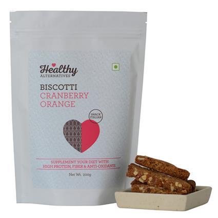 Biscotti Cranberry Orange - Healthy Alternatives