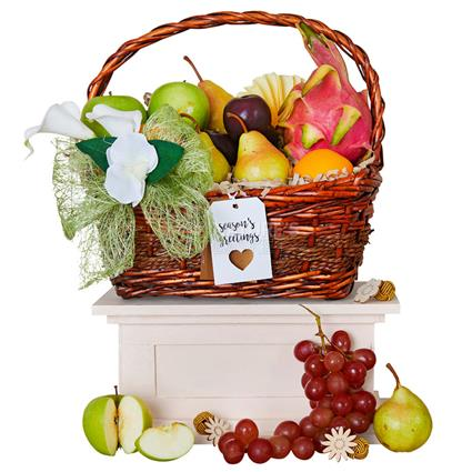 Festive Fruit Basket Medium
