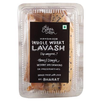 Handmade Whole Wheat Lavash - The Baker's Dozen