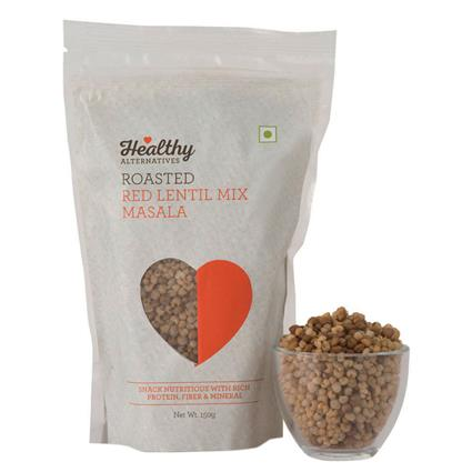 Red Lentil Mix  -   Roasted Masala Snack - Healthy Alternatives