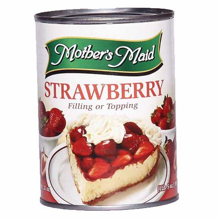 Strawberry Pie Filling/Topping - Mothers Maid