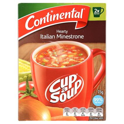 Hearty Italian Minestrone Soup - Continental