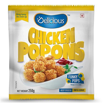 Chicken Pop Corn - Elicious