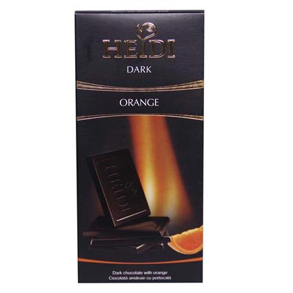 Dark Chocolate W/ Orange - Heidi