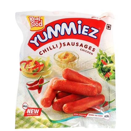 Chicken Sausages  -  Chilli - Yummiez