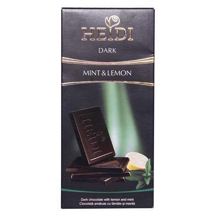 Dark Chocolate W/ Lemon & Mint - Heidi