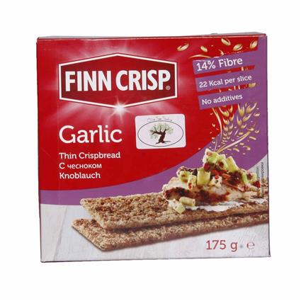 Garlic Thin Crispbread - Fini