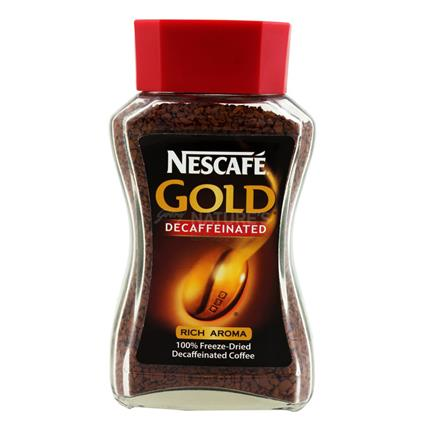 100% Freeze - Dried Decaffeinated Coffee - Gold - Nescafe