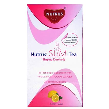 NUTRUS SLIM TEA LEMON 20's