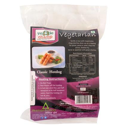 Veg Classic Hotdog - Veggie Champ