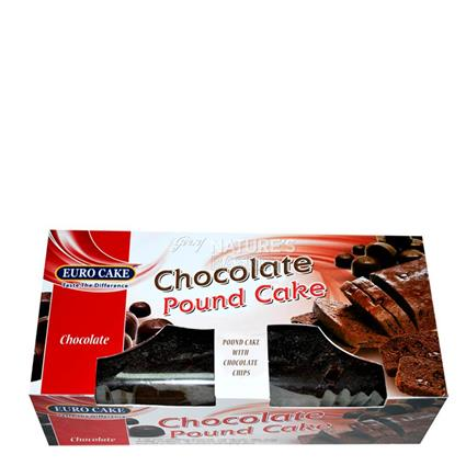 Double Chocolate Pound Cake - Euro Cake
