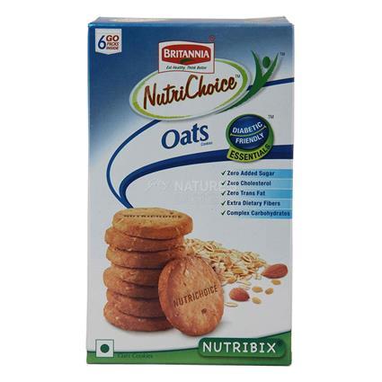 Nutrichoice Oats Cookies - Britannia