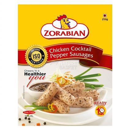 Chicken Cocktail Pepper Sausages - Zorabian