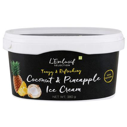 Coconut Pineapple Ice Cream - L'exclusif