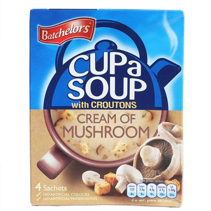 Cup A Soup W/ Croutons Cream Of Mushroom - Batchelors