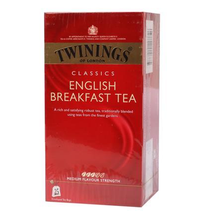 English Breakfast Tea  -  25 TB - Twinings
