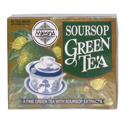 Green Tea  -  Soursop - Mlesna