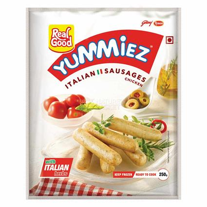 Chicken  Italian Sausages - Yummiez