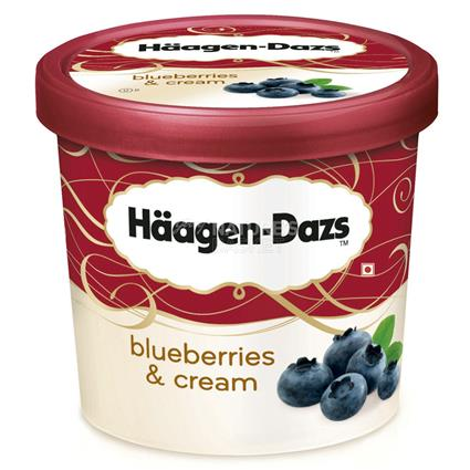 Blueberries Cream - Haagen Dazs