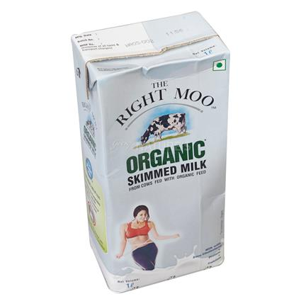 Organic Skimmed Milk - The Right Moo
