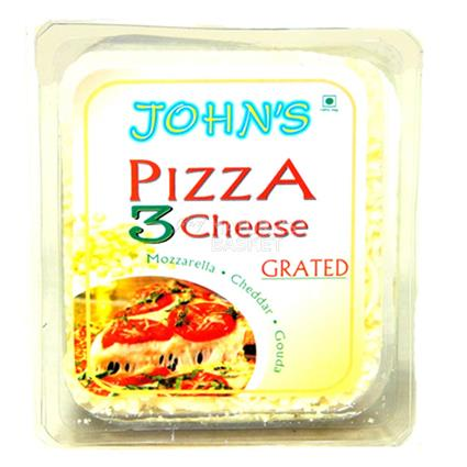 Grated Three Cheese For Pizza - John's