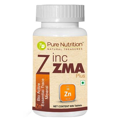 PURE NUTRITION ZINC ZMA PLUS 30N