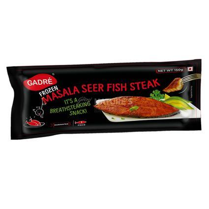 Masala Seer Fish Steak - Gadre