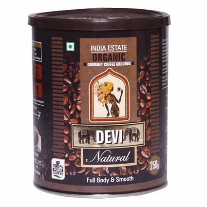 Natural Organic Robusta Ground - Devi