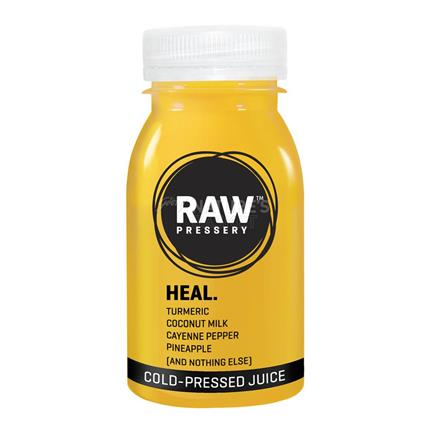 Cold Pressed Juice Heal - Raw Pressery
