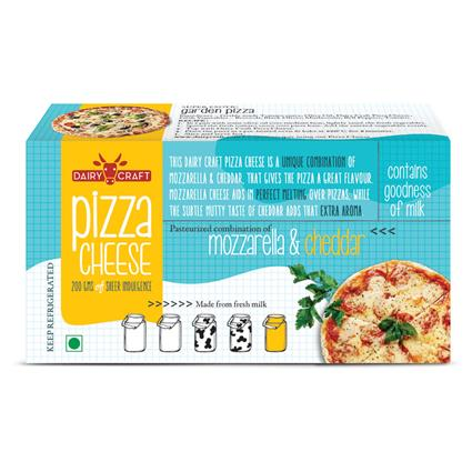 DAIRY CRAFT PIZZA CHEESE 200G