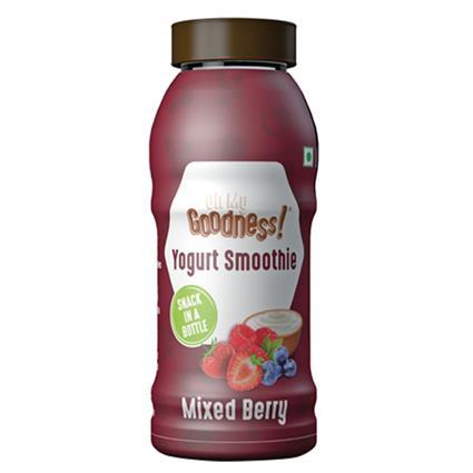 Mixed Berry Yogurt Smoothie - Goodness