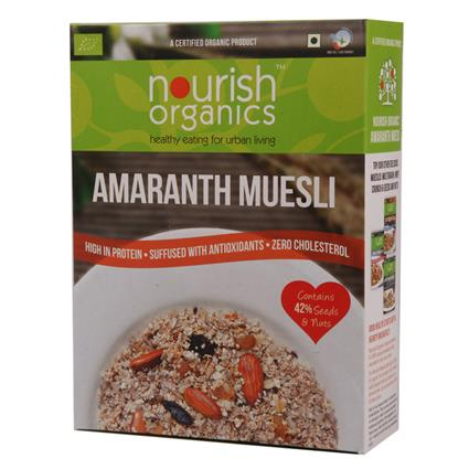 NOURISH ORG AMARANTH MUESLI 300G