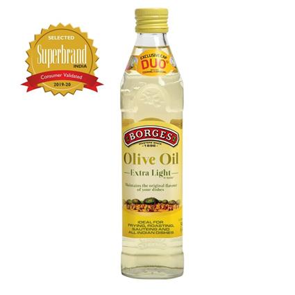 BORGES EXT. LIGHT OLIVE OIL PET 500Ml